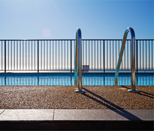 New Zealand will no longer require a pool be fenced on all four sides if the access of children is adequately excluded via an out-of-ground pool wall or a cliff-face